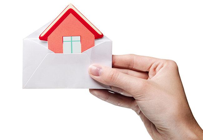 Belasting voor schenkers vastgoed